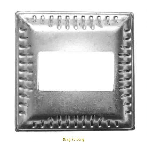 KYL-1407B (W130x130mmx 凸30xT1.5mm)  □62x62mm方孔