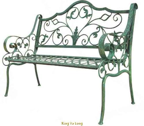 KYL-5105 雙人鍛造公園椅 (L1300xW650xH910mm)